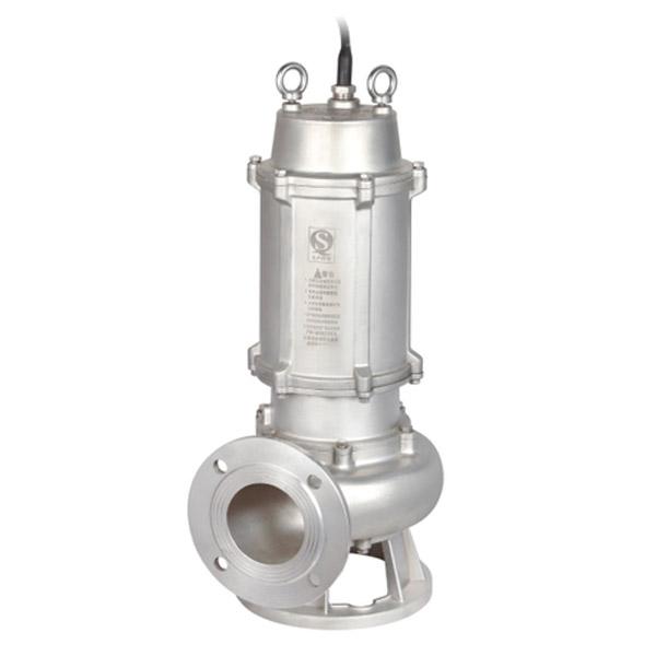 JYWQ(D)-S不锈钢精密铸造自动搅匀排污泵(国标法兰)