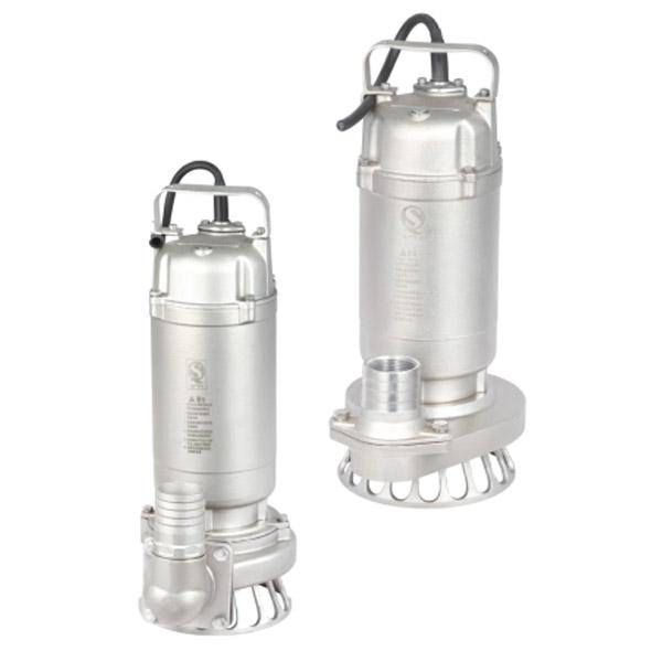 WQ(D)-S不锈钢精密铸造污水污物潜水电泵(丝口出水)