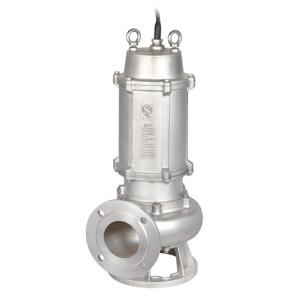 JYWQ(D)-S 不锈钢精密铸造自动搅匀排污泵