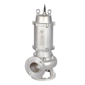wQ(D)-SQG不锈钢精密铸造切割式污水泵(国标法兰)