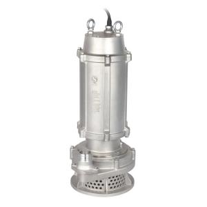 WQ(D)X-S不锈钢精密铸造高扬程污水泵(丝口出水)